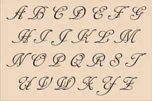 fancy script alphabet letters images pictures becuo