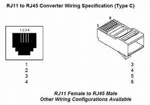 Rj11 To Rj45 Converter