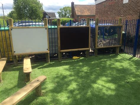 long marston va primary school eyfs playground
