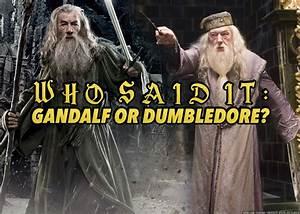 Who Said It: Ga... Gandalf Wizard Quotes