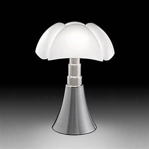 Lampe A Poser : lampe poser pipistrello aluminium h86cm martinelli ~ Nature-et-papiers.com Idées de Décoration