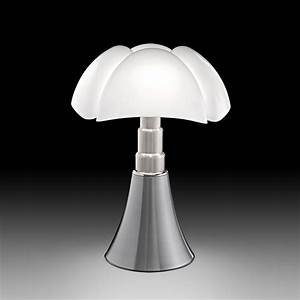 Lampe A Poser Design : lampe poser pipistrello aluminium h86cm martinelli luce luminaires nedgis ~ Teatrodelosmanantiales.com Idées de Décoration