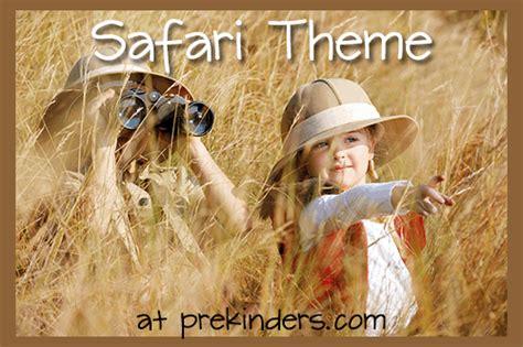 safari theme prekinders 676 | safari