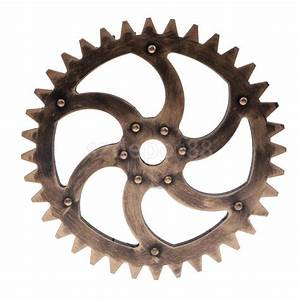 29cm Vintage Steampunk Gear Wheel Interior Wall Art