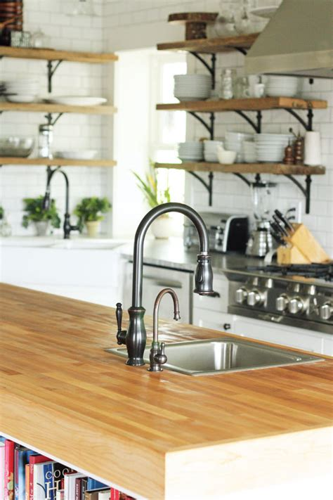 kitchen island with open shelves trend alert 5 kitchen trends to consider home stories a to z