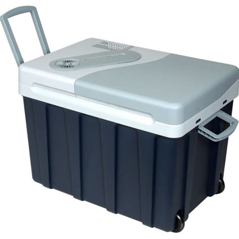 siege auto voyage glacière électrique 12 230v mobicool w40 bleue 39 litres