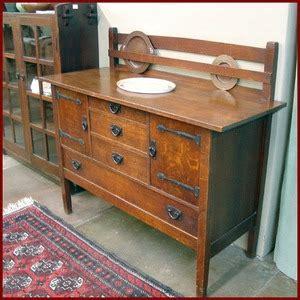 Gustav Stickley Sideboard by Voorhees Craftsman Mission Oak Furniture Gustav Stickley