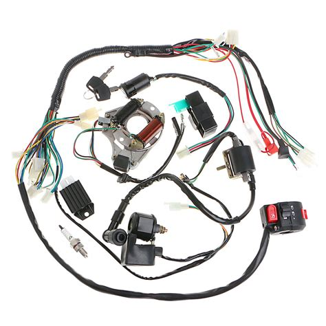 Atv Coil Wiring by 50 70 90 110cc Cdi Wire Harness Assembly Wiring Set Atv