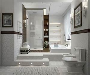 Papier peint pour salle de bain 45 idees magnifiques for Salle de bain design avec décoration d intérieur formation