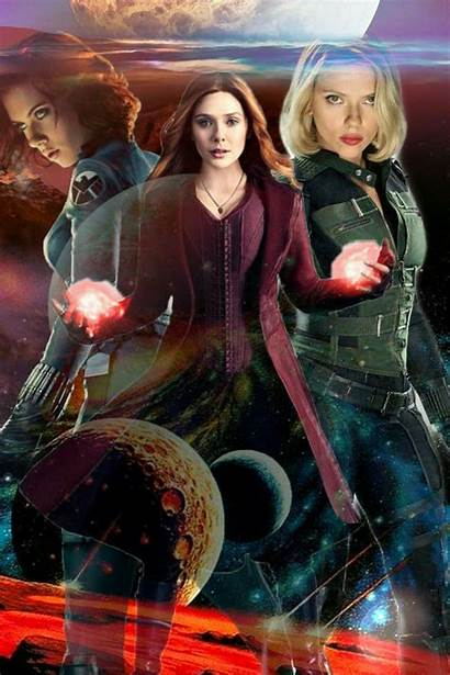 Scarlet Witch Marvel Captain Widow Dc Comics