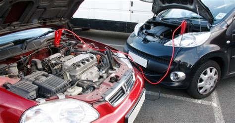 jump start car how to jump start a car battery with jumper cables hirerush