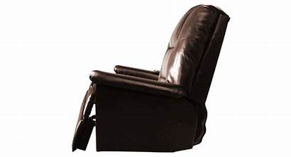 Massage Chair Recliner Pu Comfortable Lounge Brown