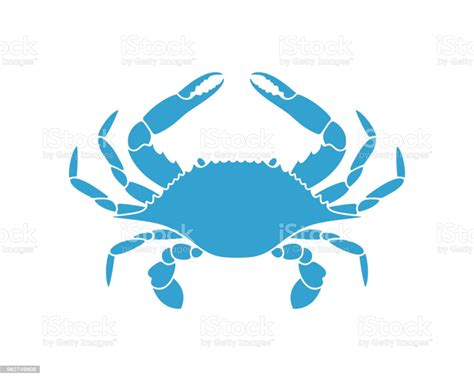 Where can i get svg blank maps of countries along with their states? Blue Crab Isolated Crab On White Background Stock ...