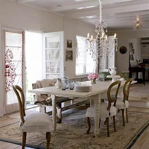 90 idees de decoration avec des meubles shabby chic With salle a manger shabby