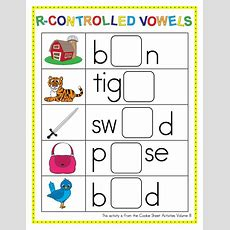 Soccer Goal! R Controlled Vowels  Make Take & Teach
