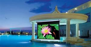 Stewart Oasis 16 9 Outdoor Weatherized Projector Screen