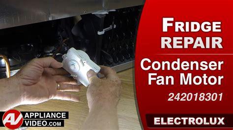 refrigerator fan not running electrolux ei23bc35ks refrigerator appliance video