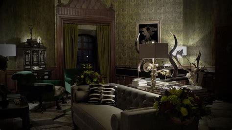 The Living Room Tv Show Recipes by Bryan Fuller Shares Pics Of Hannibal S Living Room
