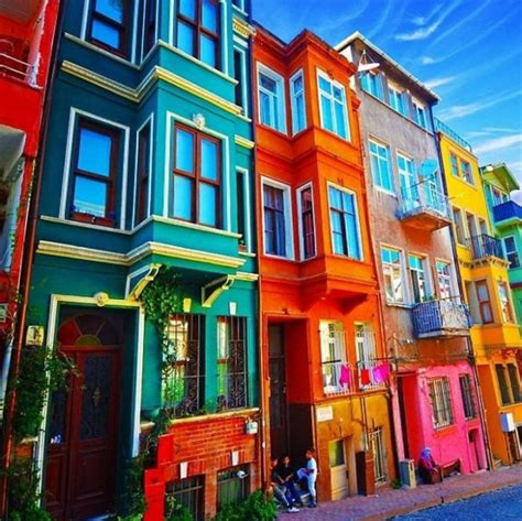 Colourful House by 18 Of The Most Colorful Houses Around The World