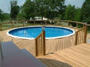 Above Ground Pool Deck Gallery by Deck Around Above Ground Pool Pictures Pool Design Ideas