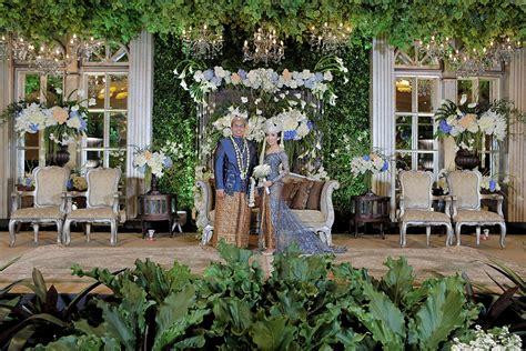 pernikahan adat sunda  tema classic garden