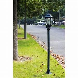 Lampadaire D Extérieur : lampadaire d 39 exterieur simple pas cher ~ Teatrodelosmanantiales.com Idées de Décoration