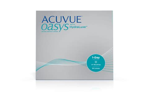 Acuvue Oasys® 1day With Hydraluxe™ Technology Acuvue