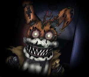 Fnaf4 - NIGHTMARE MORGAN! (COLLAB) by Morgan-the-Rabbit on ...