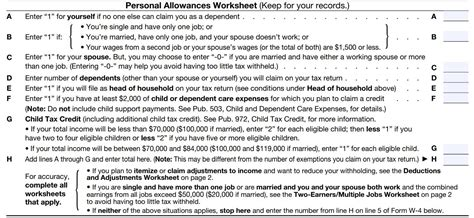 personal allowance worksheet how to fill out a w 4 form and decide how much to claim