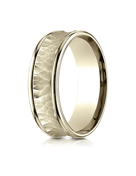 18k yellow gold 7 5mm comfort fit s wedding ring