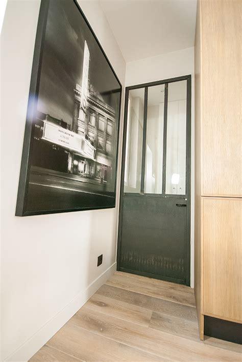 cuisine style atelier industriel portes de cuisine en acier et verre les ateliers du 4