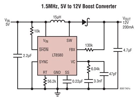 Mhz Boost Converter Circuit