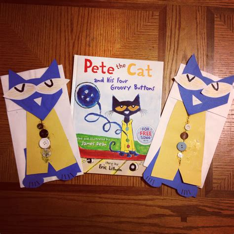 pete the cat paper bag puppets to go along with quot pete the 685 | 00ebc48add805c8dffda2ee6e6ef19ea