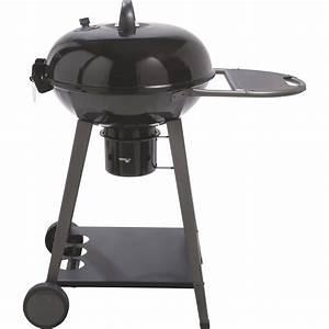 Prix D Un Barbecue : barbecue au charbon de bois naterial yutan noir et gris ~ Premium-room.com Idées de Décoration