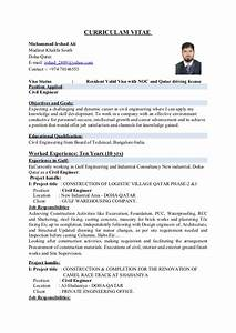 civil engineer With civil engineer resume