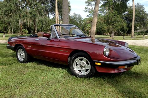 1988 Alfa Romeo Veloce Spider