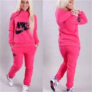 pants pink tracksuit neon jacket jumpsuit nike sweatpants
