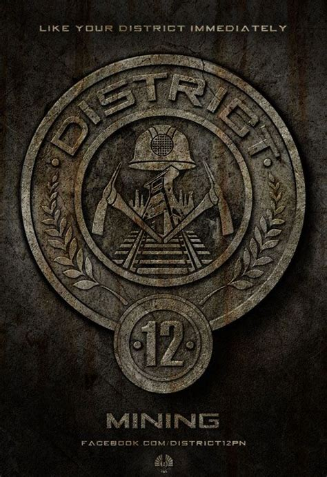 ten district seals  hunger games  filmofilia