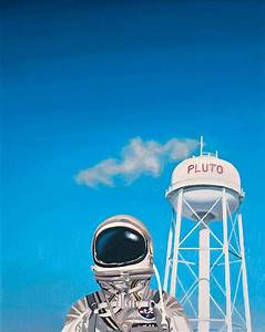 Pluto Painting by Scott Listfield
