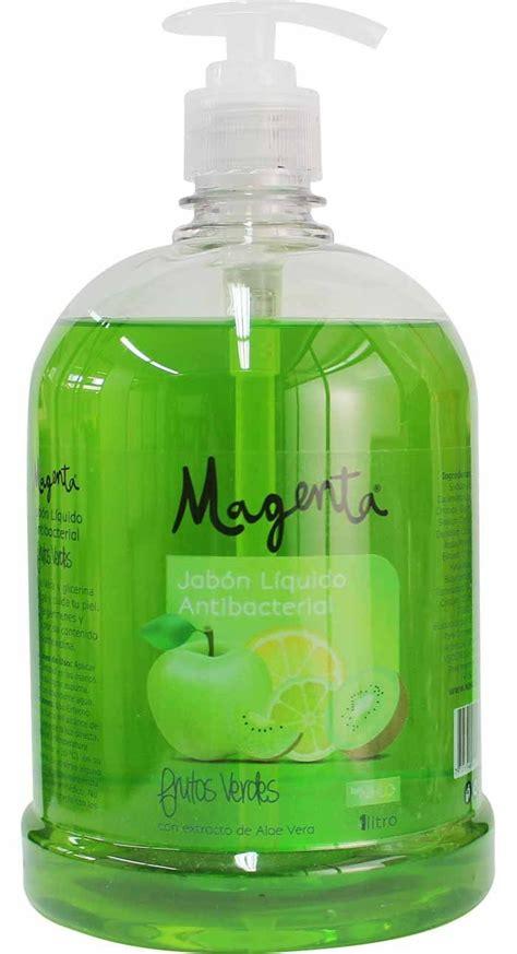 Jabón Líquido Antibacterial Frutos Verdes 1 litro NIHLO