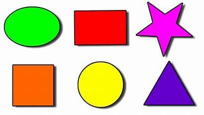 Shapes Clipart Basic Shape Cliparts Clip Maths