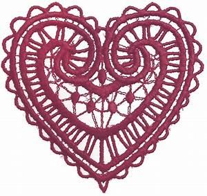Lace Heart Transparent Clipart