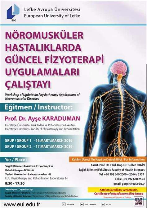workshop updates physiotherapy applications neuromuscular