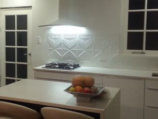 pressed metal splashback stylish  budget priced