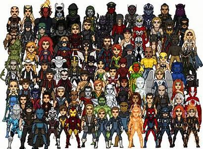 Marvel Microheroes Comics Comic Universe Characters Wiki