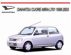 Daihatsu Cuore Mira L701 1998