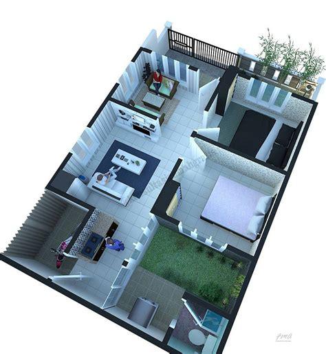 denah renovasi rumah type  mewah rancanghunian