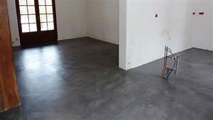 transformer son interieur grace au beton cire With resine sol interieur sur carrelage
