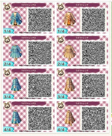#acnl #qrcode #clothes | Animal Crossing-New Leaf | Pinterest | Animal crossing Qr codes and ...