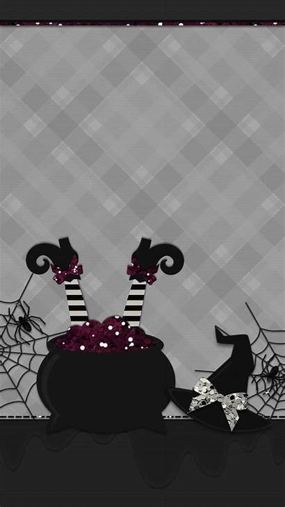 Witchy Iphone Halloween Abstract